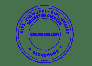 Siegel der Rechtsanwalts- und Steuerberaterkanzlei Dierkes Rechtsberatung Steuerberatung in Oldenburg Diplom-Finanzwirt Diplom-Jurist
