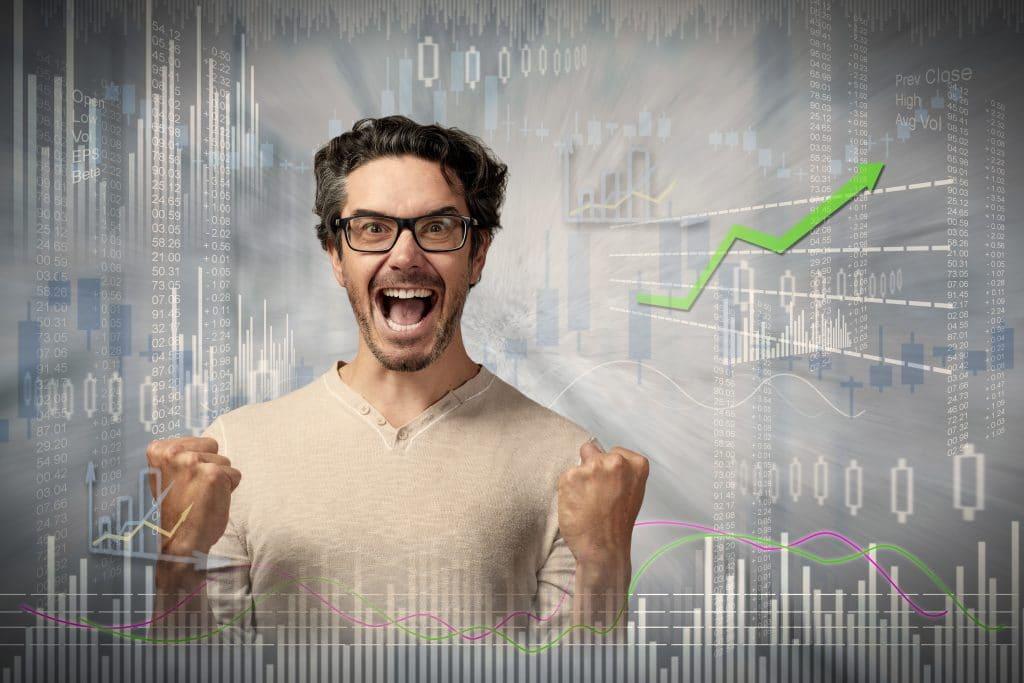 Bild Froher Unternehmer - Start ups sind bei der Kanzlei Dierkes richtig.