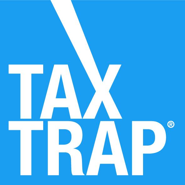 Logo tax trap registered trade mark